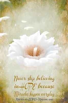 Believe Digital Art - Believe In Miracles by Beverly Guilliams