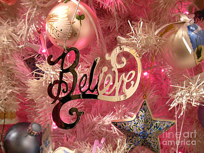 Photograph - Believe In Pink by Audrey Peaty