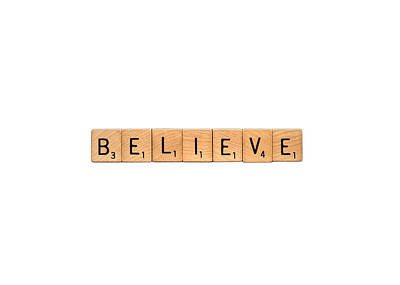 Photograph - Believe-inspireme by  Onyonet  Photo Studios