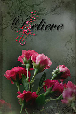 Photograph - Believe by Kathy Nairn