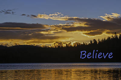 Photograph - Believe by Sherri Meyer
