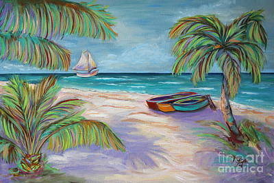Painting - Belize Beach by Jeanne Forsythe