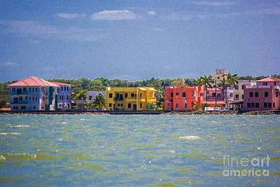 Photograph - Belize City by Suzanne Luft