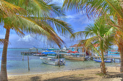 Belize Hdr Art Print