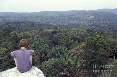 Photograph - Belize Jungle Xunantunich by John  Mitchell