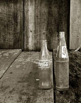 Photograph - Belizean Bottles by Michael Kirk