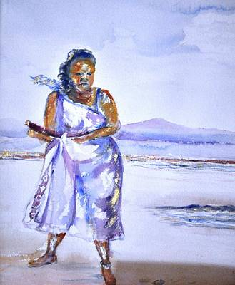 Painting - Belizian By The Sea by Ramona Wright