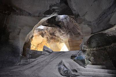 Bell Caves Art Print