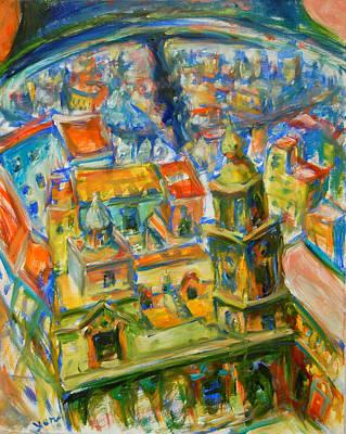 Bell City Art Print by Yen