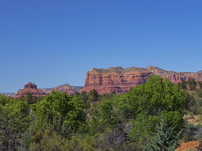 Photograph - Bell Rock And Courthouse Butte by Marianne Campolongo