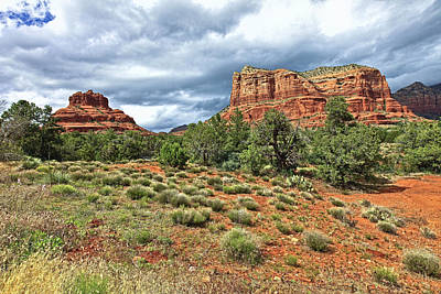 Photograph - Bell Rock At Sedona Az. by James Steele
