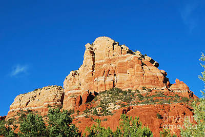 Digital Art - Bell Rock In Sedona Arizona by Eva Kaufman