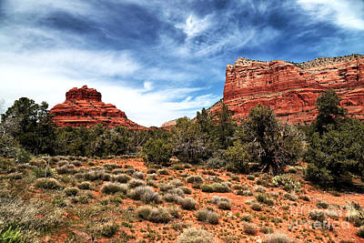 Photograph - Bell Rock In The Distance by John Rizzuto