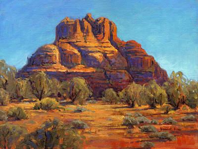 Cathedral Rock Painting - Bell Rock, Sedona Arizona by Konnie Kim