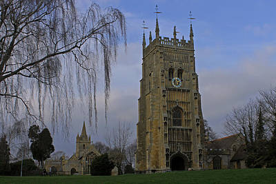 Photograph - Bell Tower And St Lawrence Church by Tony Murtagh