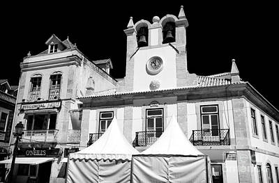 Photograph - Bell Tower In Cascais by John Rizzuto