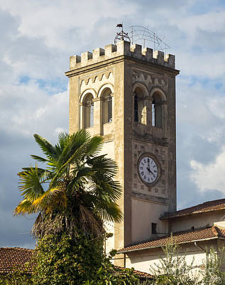 Photograph - Bell Tower Of Lamporecchio by Prints of Italy