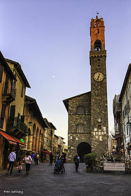 Photograph - Bell Tower Of Montalcino by Fran Gallogly