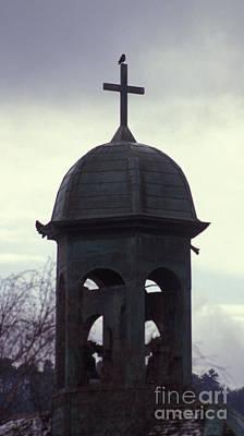 Besancon Photograph - Bell Tower Of The Cathedrale Saint Jean De Besancon by Gregory Schultz