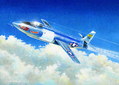 Painting - Bell X-1b by Douglas Castleman