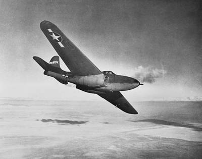 Bell Xp-59a Airacomet, 1942 Art Print by Science Photo Library
