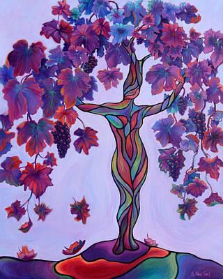 Painting - Bella Di Vino by Sandi Whetzel