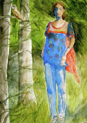 Bella Emerges Art Print by Beverley Harper Tinsley