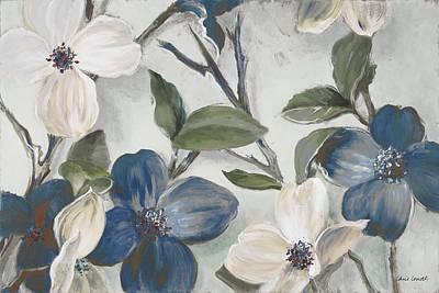 Bella Fiori Blu Art Print by Lanie Loreth