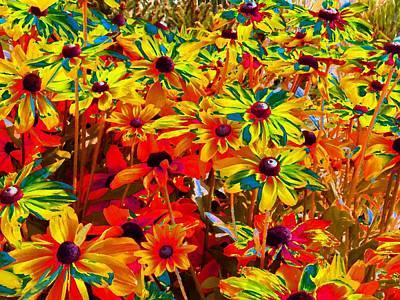 Bella Flora Painting Art Print by Will Borden