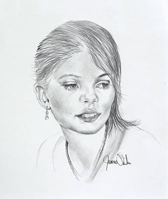 Drawing - Bella by James Skiles