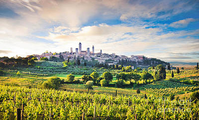 Bella Toscana Art Print by JR Photography