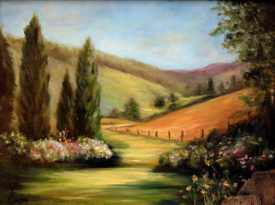 Bella Valle Art Print
