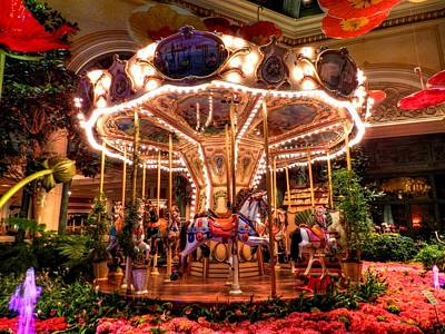 Photograph - Bellagio 003 by Lance Vaughn