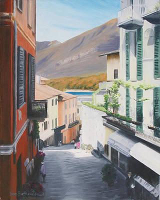 Bellagio Painting - Bellagio Como by Sue Birkenshaw