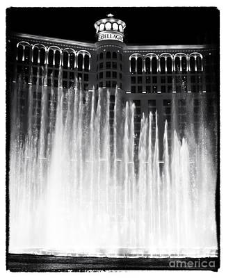 Bellagio Fountains I Art Print