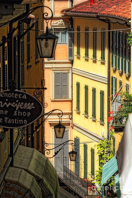 Bellagio Street Charm IIi Art Print