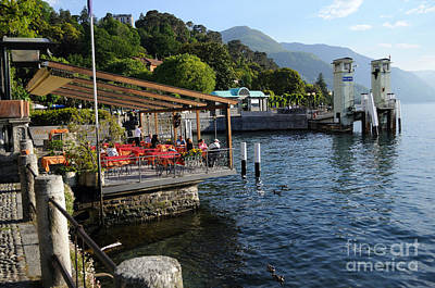 Photograph - Bellagio Village In Lake Como by Haleh Mahbod