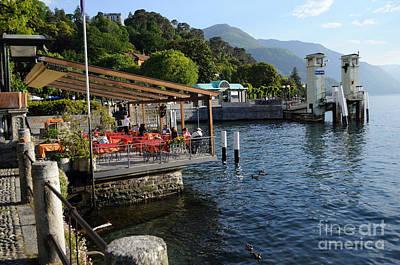 Photograph - Bellagio Village In Lake Como by Haleh Mahbod