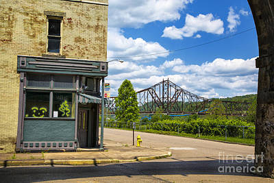 Photograph - Bellaire Bridge by Rick Bragan