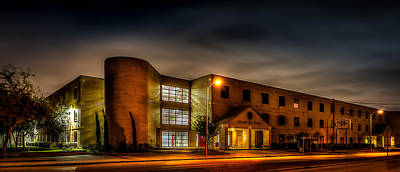 Photograph - Bellaire High School by David Morefield