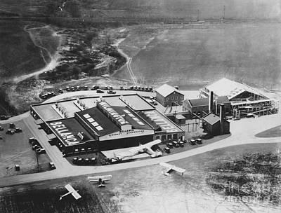 Bellanca Airfield, 1929 Art Print