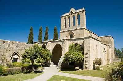 Art Print featuring the photograph Bellapais Abbey Kyrenia by Jeremy Voisey
