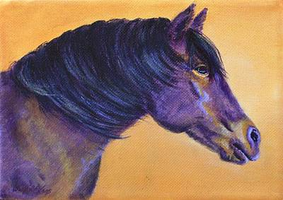 Forelock Painting - Bellas Light by Wendi Matson