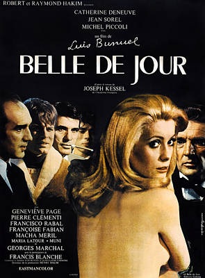 Belle De Jour, French Poster, Michel Art Print
