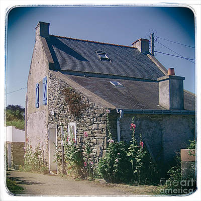 Photograph - Belle-ille Stone Cottage by Kate McKenna