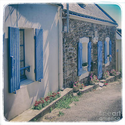 French Countryside Photograph - Belle-ille Street by Kate McKenna