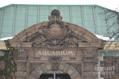 Photograph - Belle Isle Aquarium Entrance 1 by Randy J Heath
