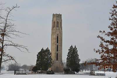 Photograph - Belle Isle Bell Tower by Randy J Heath