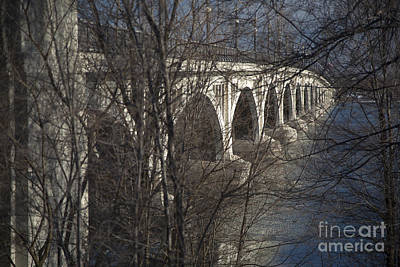 Photograph - Belle Isle Bridge by Jim West