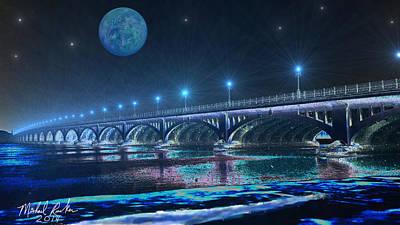 Belle Isle Bridge Original by Michael Rucker